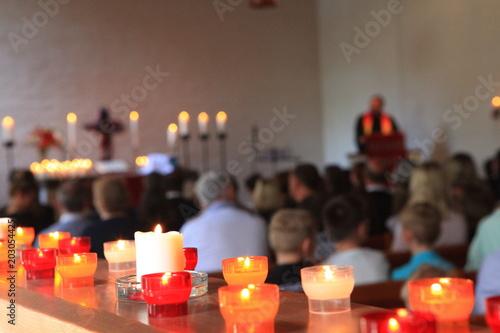 Foto Gottesdienst in der Kirche