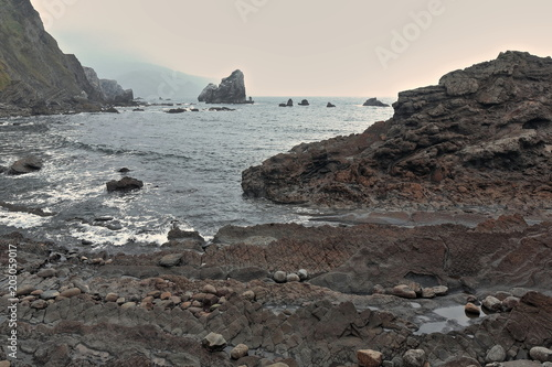 Photo  Rocks in cove W
