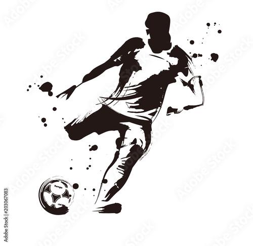 Fotografie, Tablou  サッカー選手