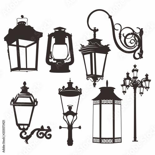 Photo Lantern Vector Design