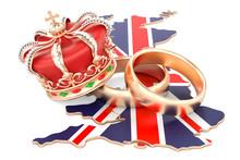 Royal Wedding Concept. Wedding...