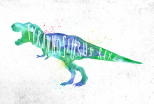 Dynosaur Tyranosaurus Vivid