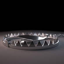 3d Rendered, Medically Accurate Illustration Of A Bear Trap