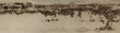Leinwanddruck Bild - wet on the wall panorama