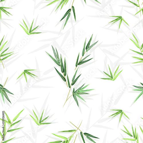 bezszwowe-tlo-z-lisci-bambusa-wektor