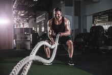Muscular Powerful Aggressive M...