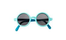 Light Blue Frame Sunglasses Is...