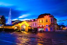 St. Egidius Street At Night Wi...