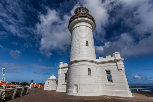 Stampa su Tela Cape Byron Lighthouse up close. Byron Bay, NSW, Australia