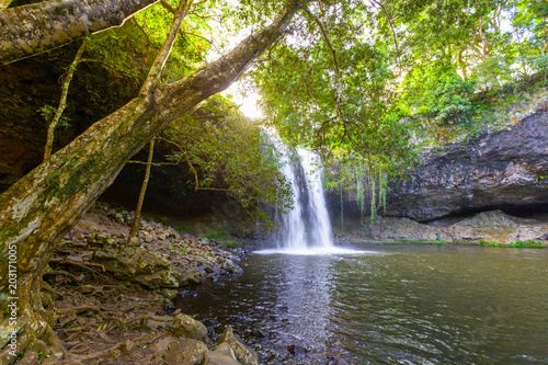 Scenic Killen Falls near Byron Bay, New South Wales, Australia Fototapet