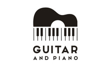 Guitar Strings And Piano Key M...