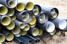 Plastic Building Pipes.