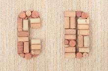 Alphabet Letter C And D Made O...