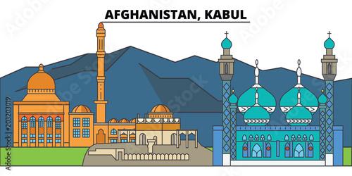 Afghanistan, Kabul Canvas Print