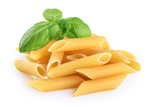 Penne Rigate Pasta And Basil I...