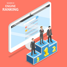 Search Engine Ranking Flat Iso...