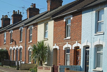 Victorian Terrace Houses In Th...