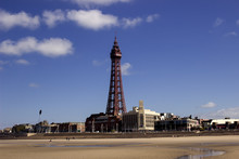 Blackpool Tower And Beachfront...