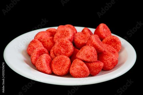 Fotografie, Obraz bonbons fraises