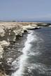Europa, isola di Cipro, la spiaggia di Governor's beach,vicino Limassol.