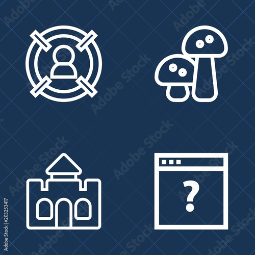 Photo  Premium set of outline vector icons