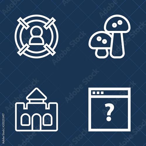 Photo  Premium set of outline vector icons