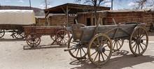 Old Pioneers Wagon, Utah