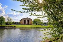 The Parthenon In Nashville, Te...