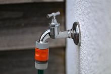 Water Tap For Watering In The ...