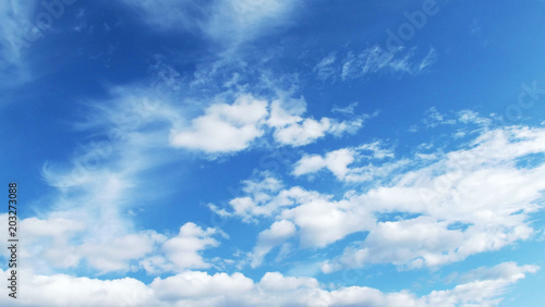 Canvas Prints Heaven Blue sky and white clouds.The natural background.