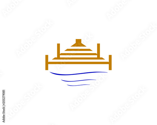 Photo dock logo