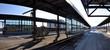 Ottawa Train Station on 200 Tremblay Road in Ottawa, Ontario, Canada.