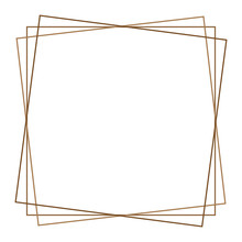 Square Photo, Picture Frame, Picture Border. Conceptual Crosshair, Viewfinder Square