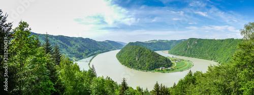 Fényképezés  Panorama Schlögener Schlinge - Donautal