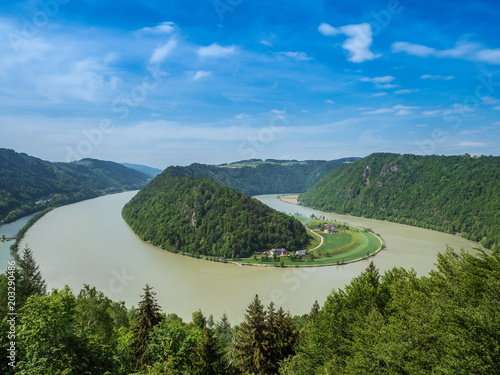 Schlögener Schlinge - Donautal Tapéta, Fotótapéta