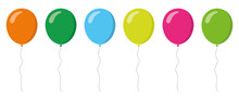 Colorful Balloons Collection. ...