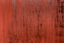 Red, Rusty Background With Pee...