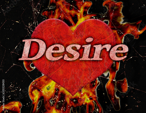 Photo Desire Concept Background Illustration