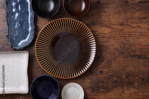 和食器の集合