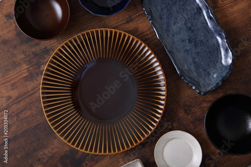 Fotografia  和食器の集合