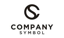 Initials Monogram CS SC Letter...