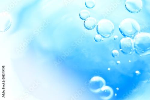 Foto op Aluminium Water 水、イメージ、泡、健康、医療、背景素材
