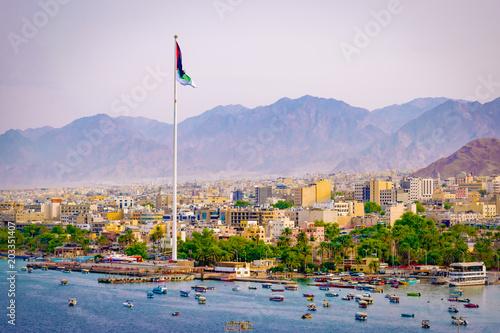 Fotografie, Obraz  Port of Aqaba, Jordan