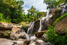 Mae Klang Waterfall, Chiang Ma...