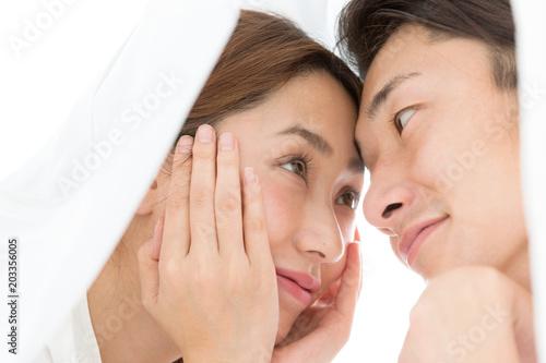 Fotografia, Obraz  見つめ合う男女