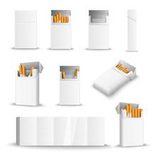 Cigarette Blank Packs Realistic