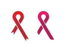 Ribbon Logo Template Vector Icon