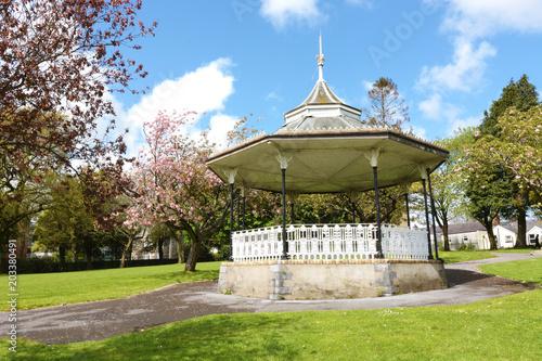Photo Carmarthen Park Bandstand, Carmarthenshire, Wales