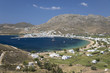 View over Livadi Bay, Serifos, Cyclades, Aegean Sea, Greek Islands, Greece, Europe