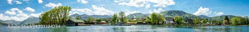 Foto auf Gartenposter Blau tegernsee lake - bavaria - germany